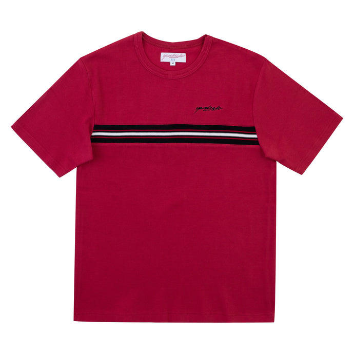 Yardsale Ribbed Tee Red
