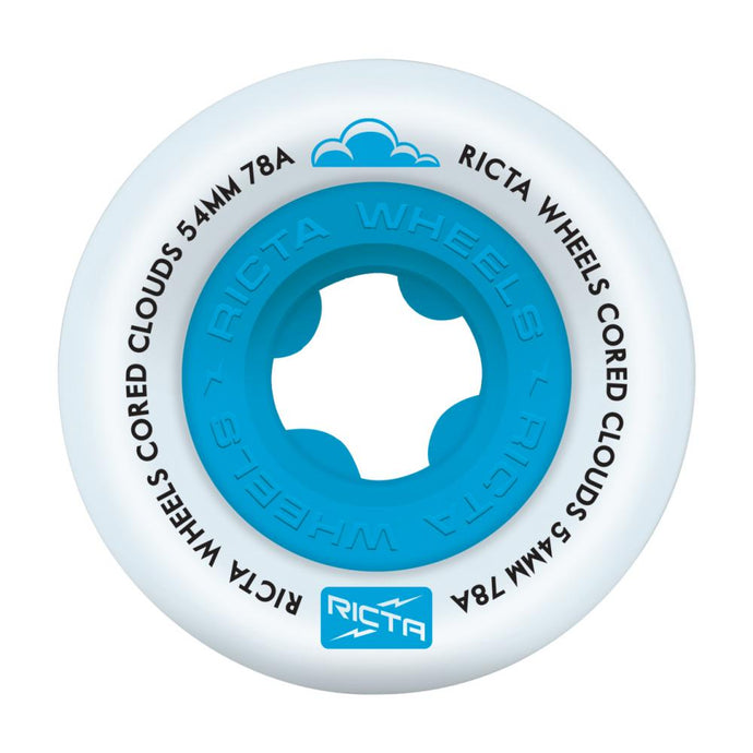 Ricta Wheels Cored Clouds Blue 78A 54mm