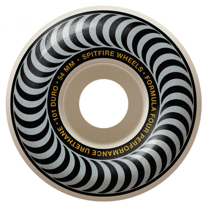 Spitfire Formula Four Wheels Classics 101 Silver/Natural 54mm