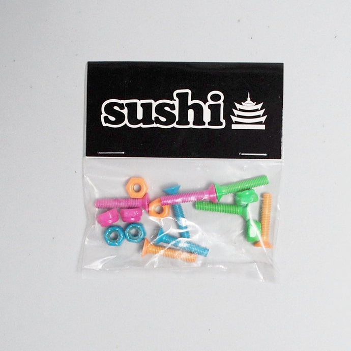 Sushi Coloured Bolts