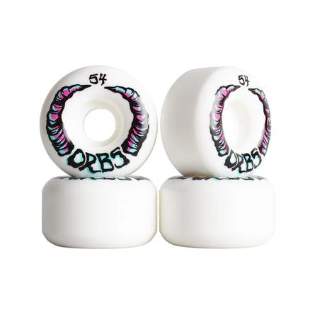 Orbs Wheels Apparitions White  - 54mm