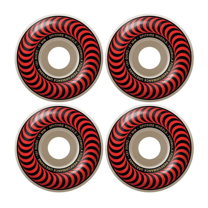 Spitfire Classic Formula Four 101 Classic Wheels - 51mm