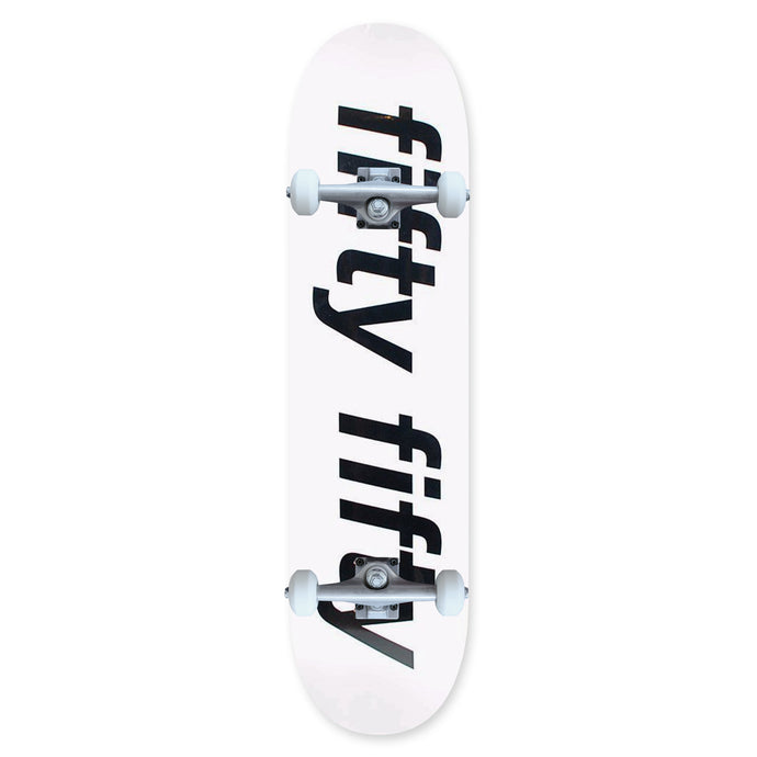 Fifty Fifty Trademark Complete White 8.5