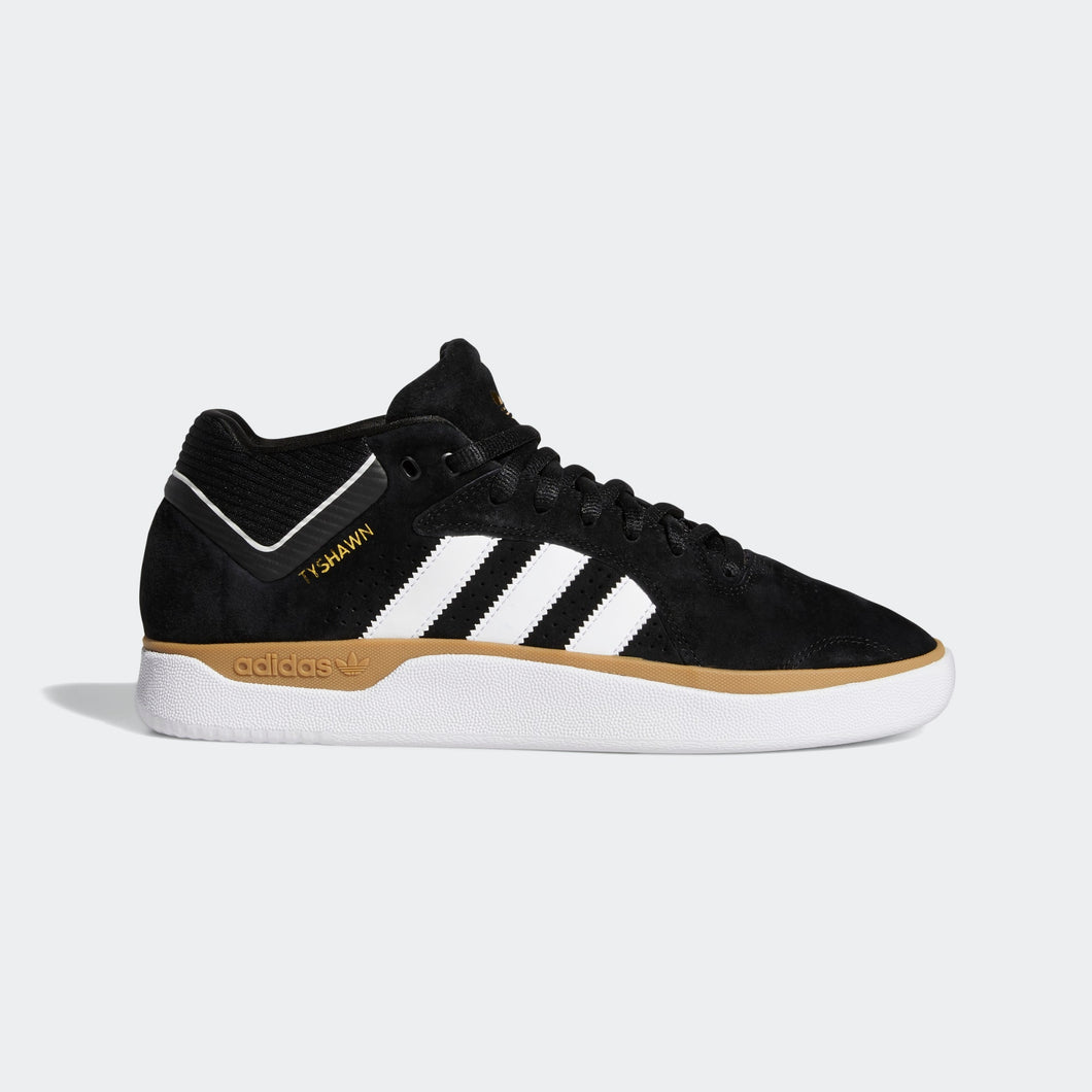 Adidas Tyshawn Shoe Core Black / Cloud White / Gum