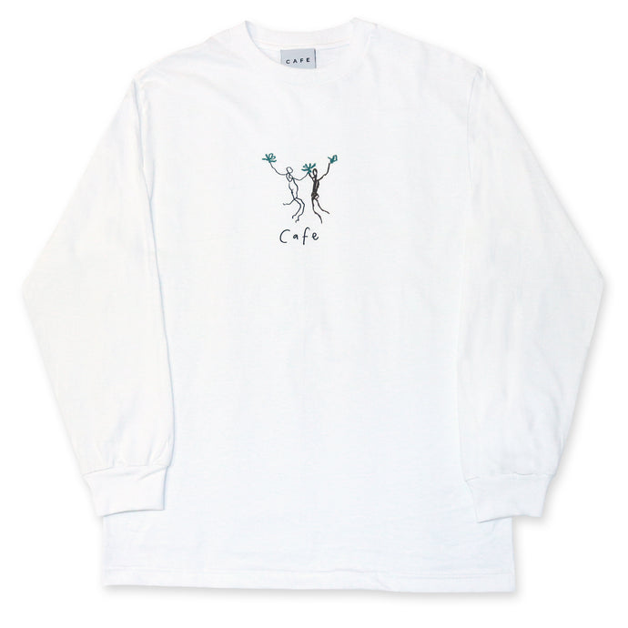 Skateboard Cafe Unity Longsleeve T-Shirt White