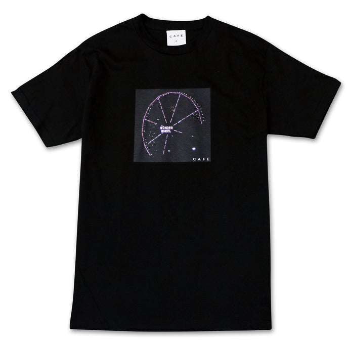 Skateboard Cafe Wonder Wheel T-Shirt Black