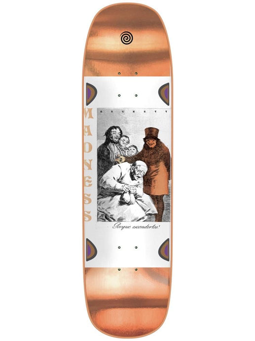 Madness Skateboards Sam Porque Bronze R7 8.75 Deck