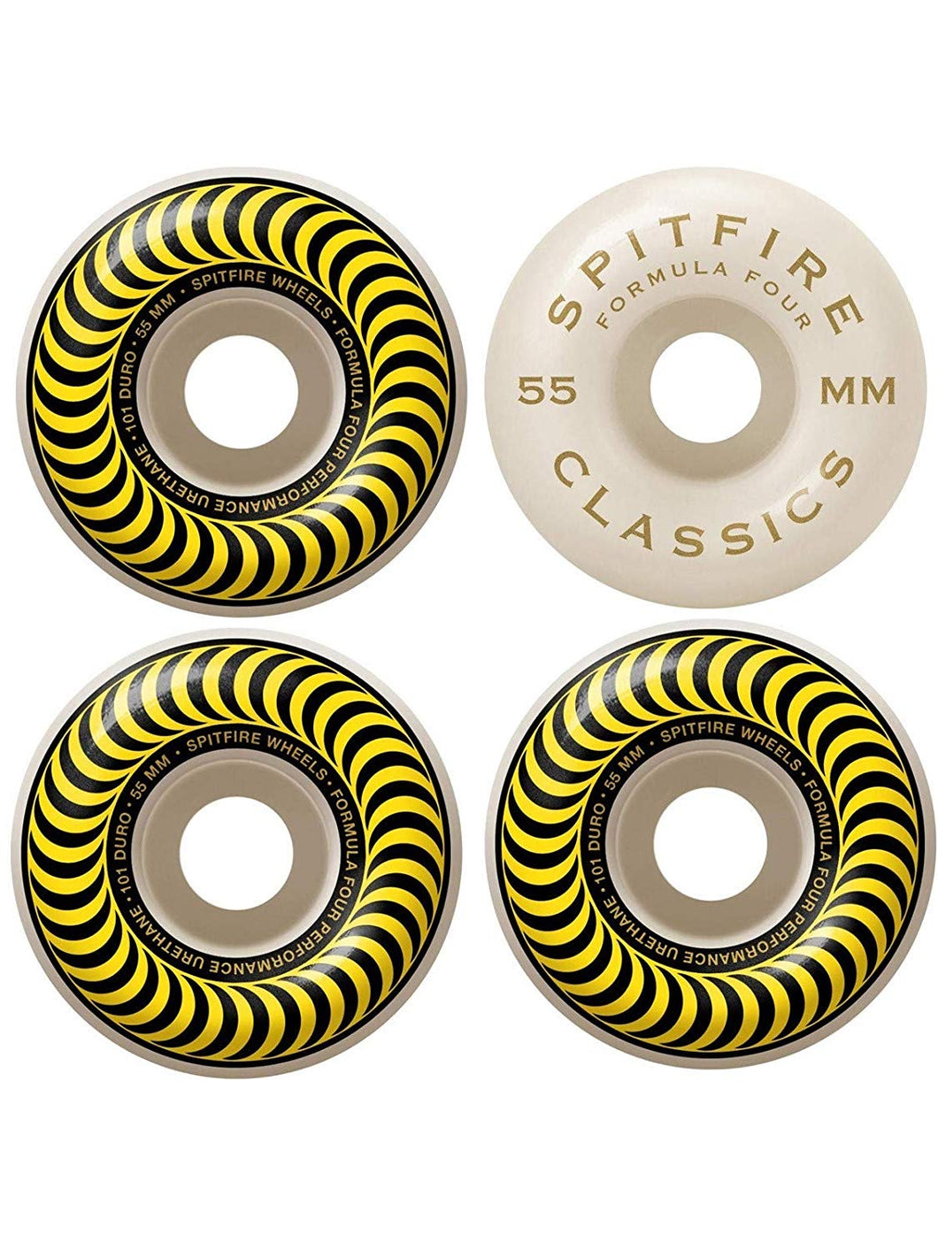 Spitfire Formula Four Classic 99 Wheels - 55mm