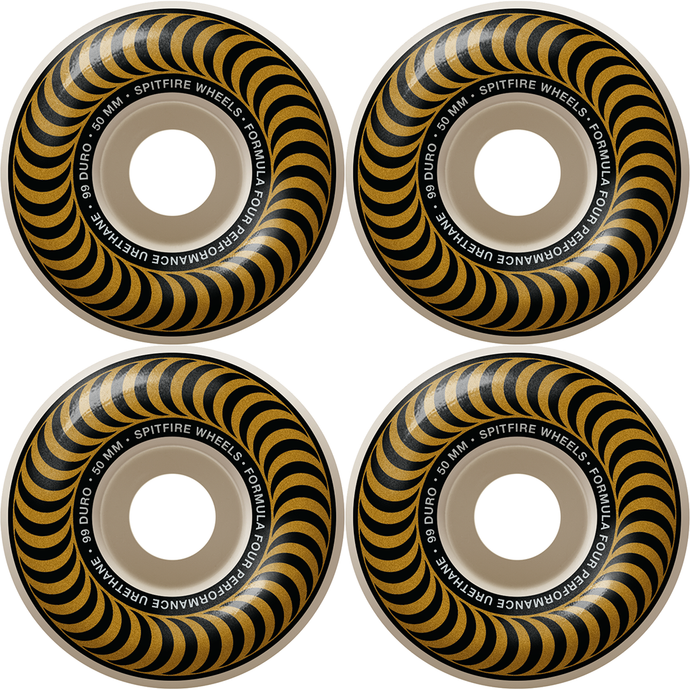 Spitfire Formula Four Classic 101 Wheels - 50mm