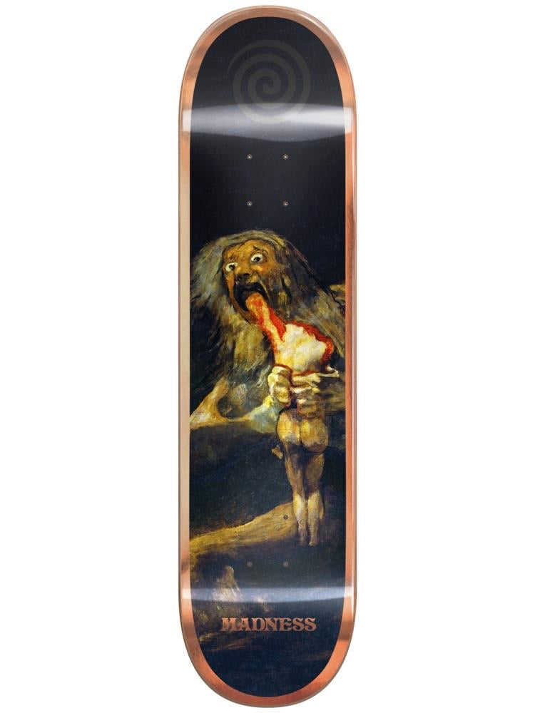 Madness Skateboards Bronze Son R7 8.0 Popsicle Deck