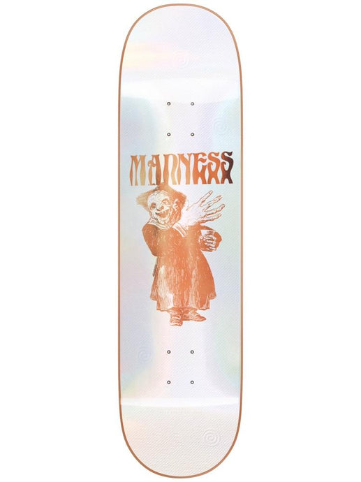 Madness Skateboards Back Hand R7 Popsicle Bronze Deck 8.375""
