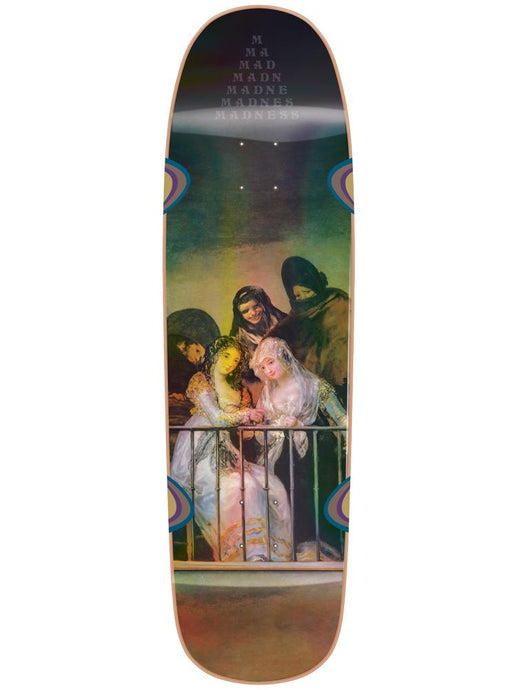 Madness Skateboards Creeper Holographic R7 Deck 8.5""