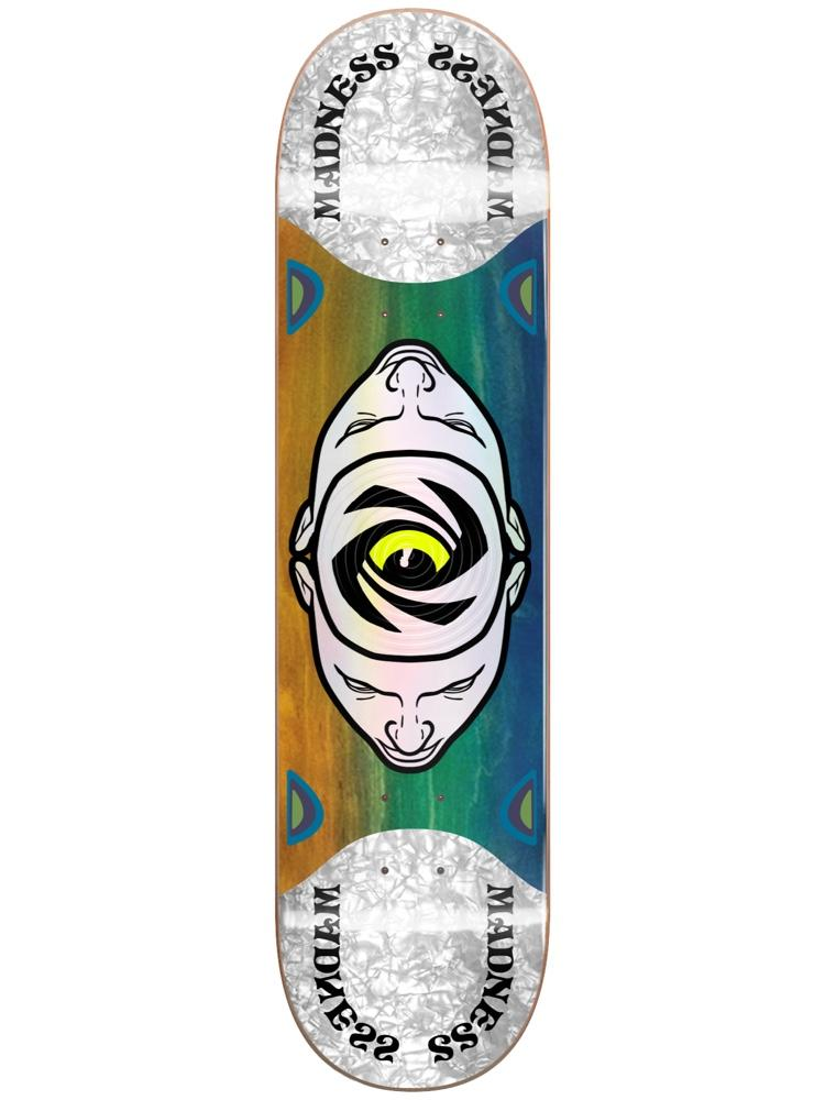 Madness Skateboards Minds Eye Popsicle Slick Deck 8.125""