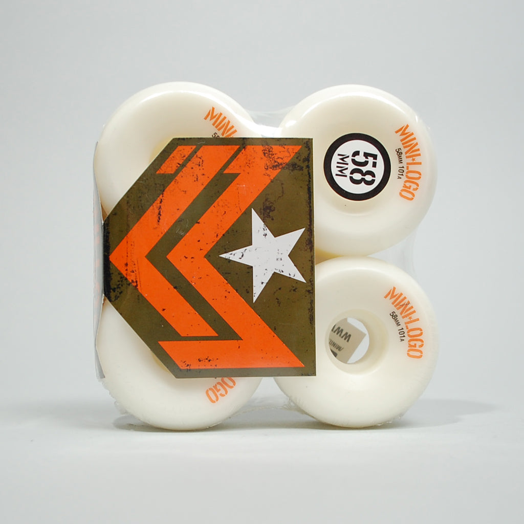 Mini Logo Wheels - 58mm