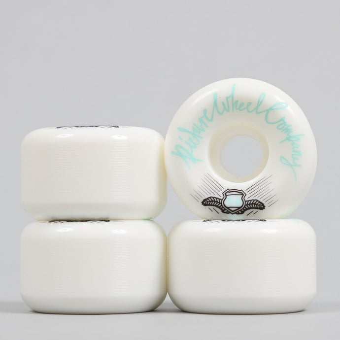 Picture POP Wheels 54mm White / Teal