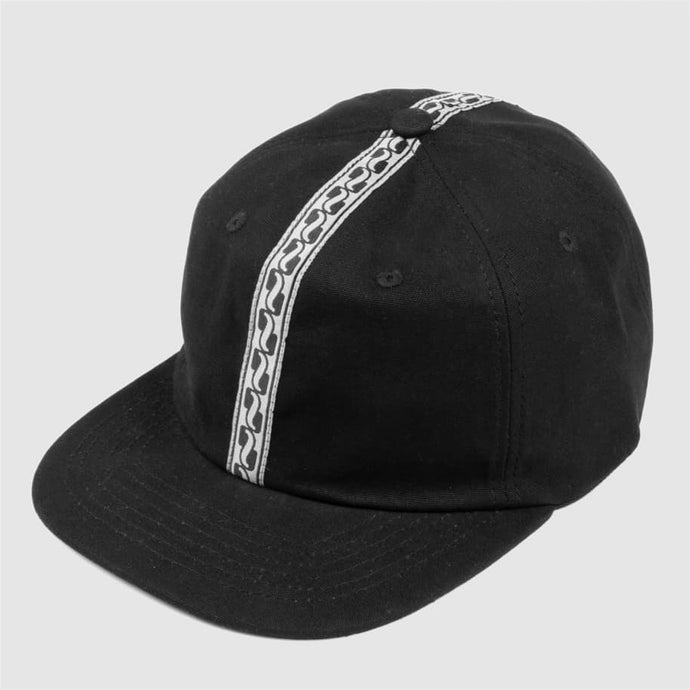 Pass~Port Auto Ribbon 6-Panel Cap Black