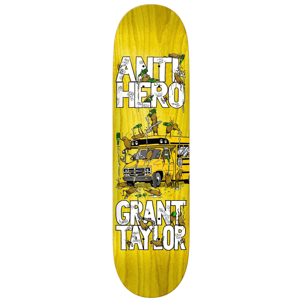 Anti Hero Grant Taylor Maka Bus Deck  Assorted Stain 8.5