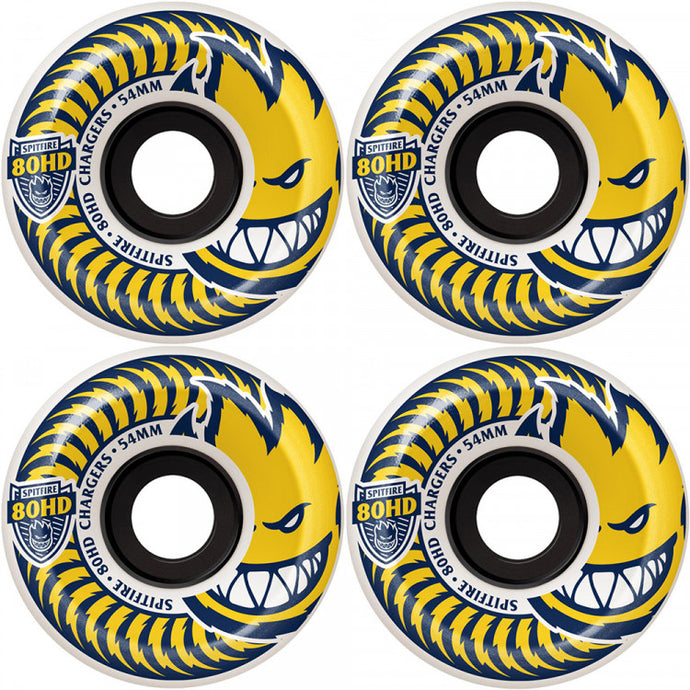 Spitfire Charger 80HD Soft Wheels - 56mm