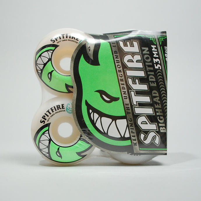 Spitfire Bighead Wheels - 53mm