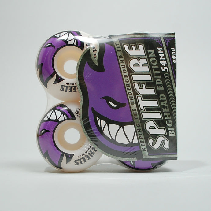 Spitfire Bighead Wheels - 54mm