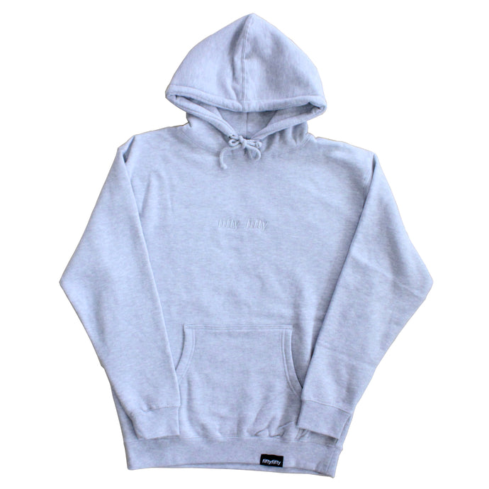 Fifty Fifty Tonal Hood Heather Grey
