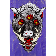 Welcome Hog Wild on Boline Deck Various Stains 9.25""