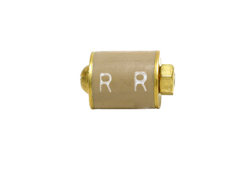 (Short) Single rubber inside style plug (BRASS)