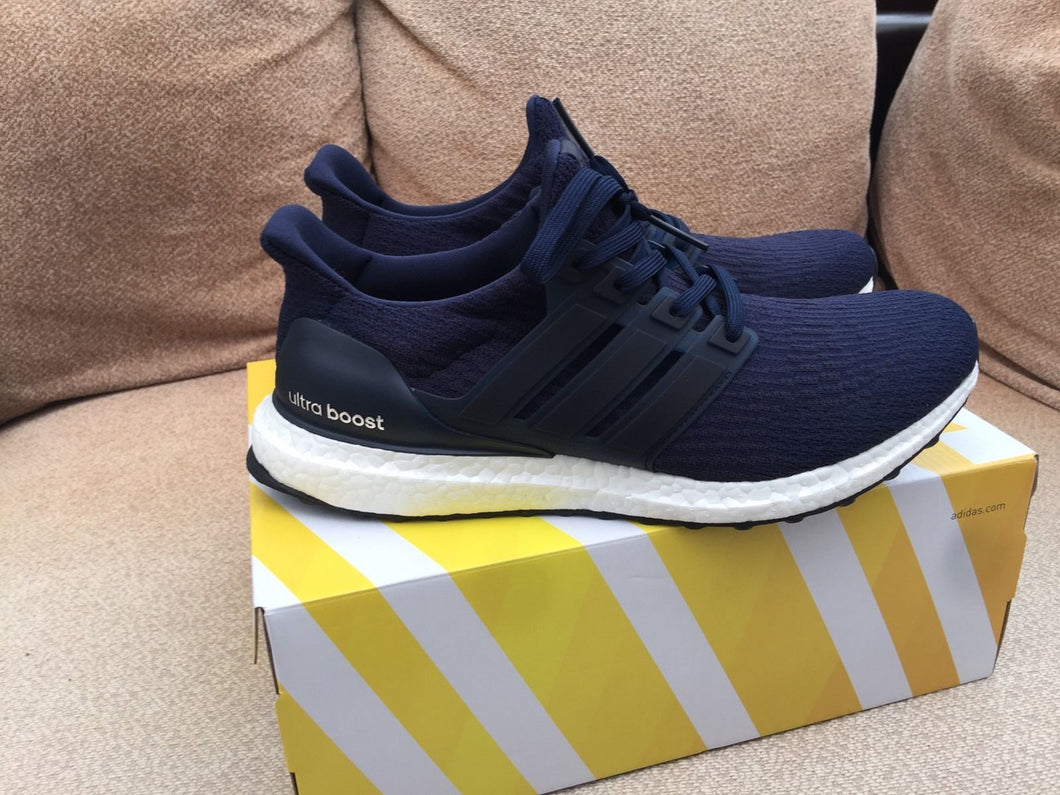 a4362dcf179 Adidas Ultra Boost 3.0 Navy - UK 9.5 US 10 – TRUSTED KICKS UK