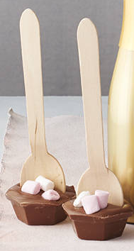 Hot Chocolate Stirrer with Marshmellows