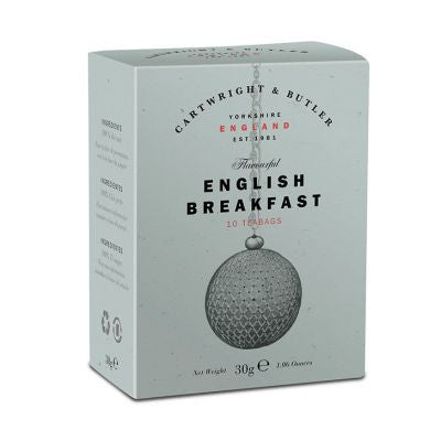 Cartwright and Butler English Breakfast Tea