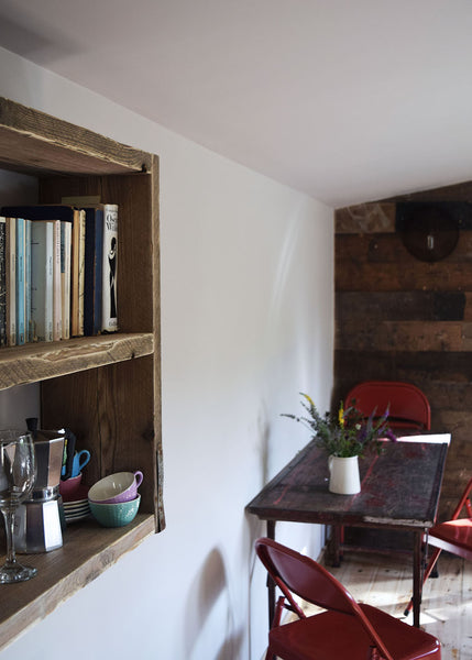 Lewes Map Store, Apple tree cabin for rent in Lewes, Sussex, sustainable materials, South Downs