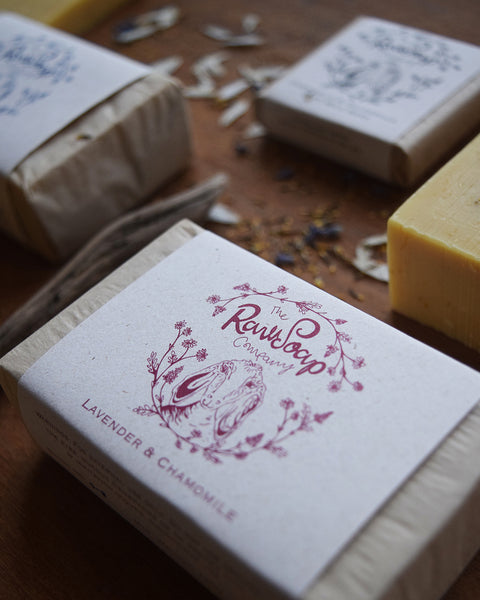 Lavender & Chamomile Milk Soap Bar at Lewes Map Store