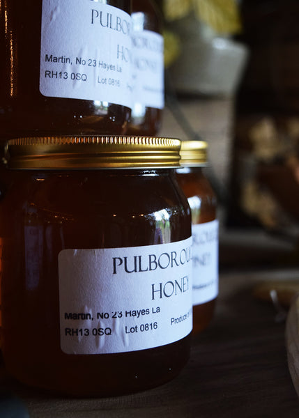 Pulborough Raw Honey at Wild Sussex pop-up shop