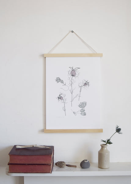 This beautiful 'Wildflowers' art print by Anna's Drawing Room makes a special gift for Mother's Day.