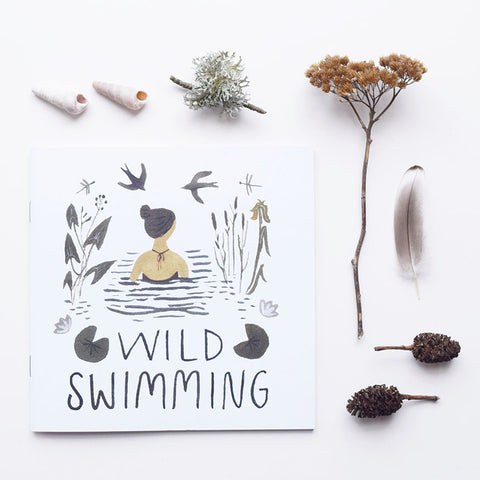 The Wild Swimming Book by Flora Jamieson and Gemma Koomen, Lewes Map Store