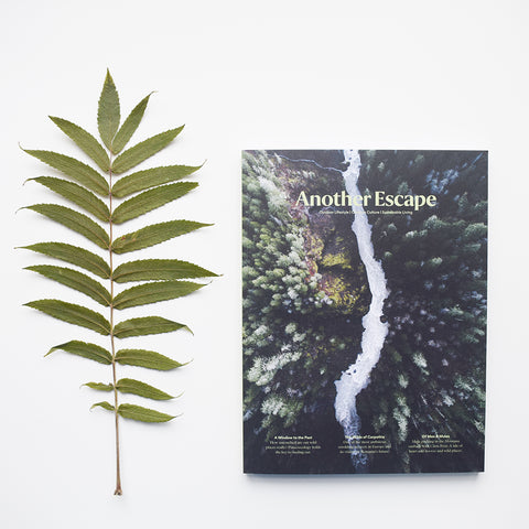 Another Escape Magazine, Volume Nine, the Wilderness Issue questions what is wilderness and what it means to be wild.