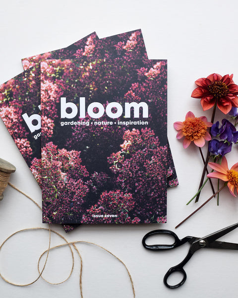 Celebrating the joys of gardening and nature. Bloom magazine is full of practical advice, thought-provoking stories about nature and a celebration of all things green. Issue 7, the autumn issue, is out now.