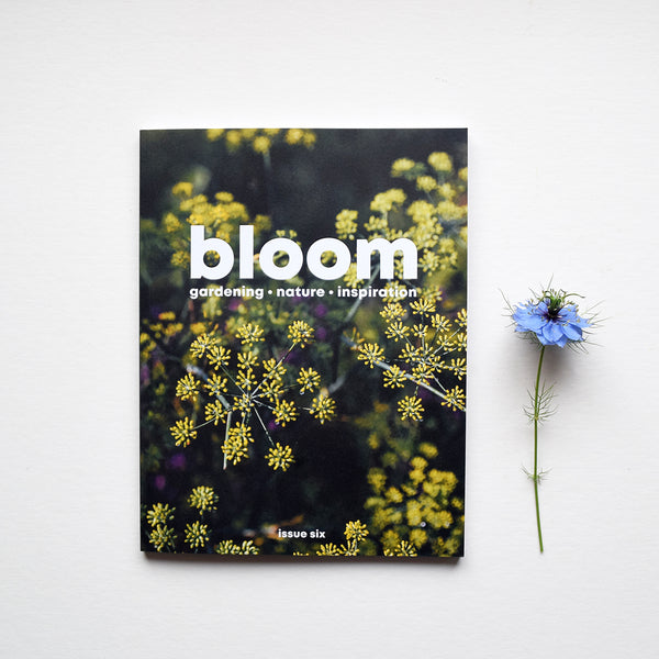 Celebrating the joys of gardening and nature. Bloom magazine is full of practical advice, thought-provoking stories about nature and a celebration of all things green. Issue 6, the summer issue, is out now.