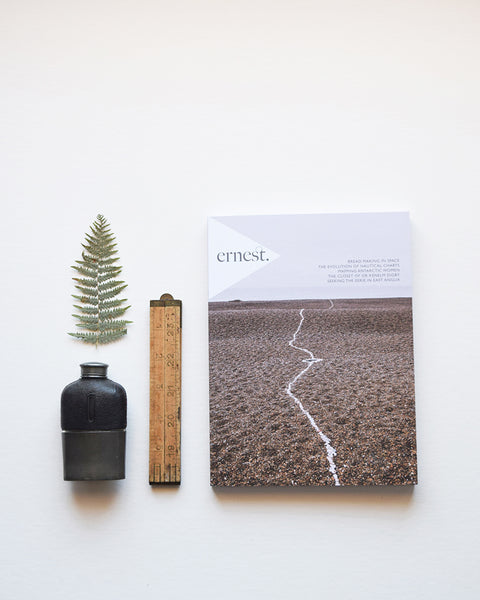 Ernest Journal, issue 7, is an independent biannual printed magazine for curious and adventurous gentlefolk.