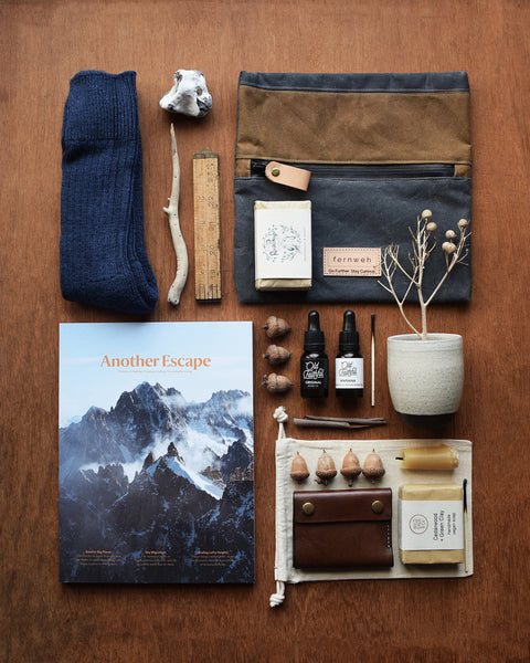 Designed and handcrafted in a seaside studio in Aberdeen, this beautiful and practical pouch made from waxed cotton canvas is perfect for keeping your important items, like maps, travel documents, phone, or other essentials safe when out on your everyday adventures, travels and hiking trips.