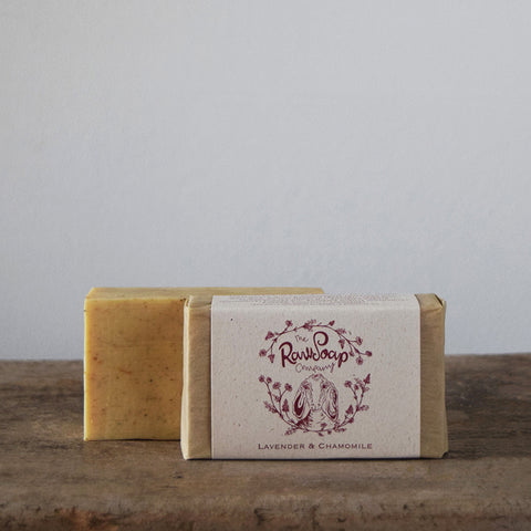 This handmade Lavender & Chamomile Goat Milk Soap Bar contains pure Hampshire lavender and chamomile essential oil which are blended carefully into this beautiful Pure Goat Milk soap recipe.