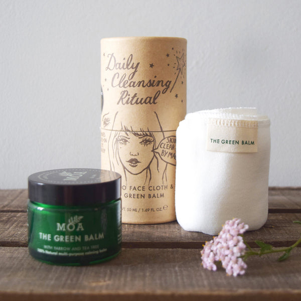 Daily cleansing ritual, magic organic apothecary, MOA London, natural skincare