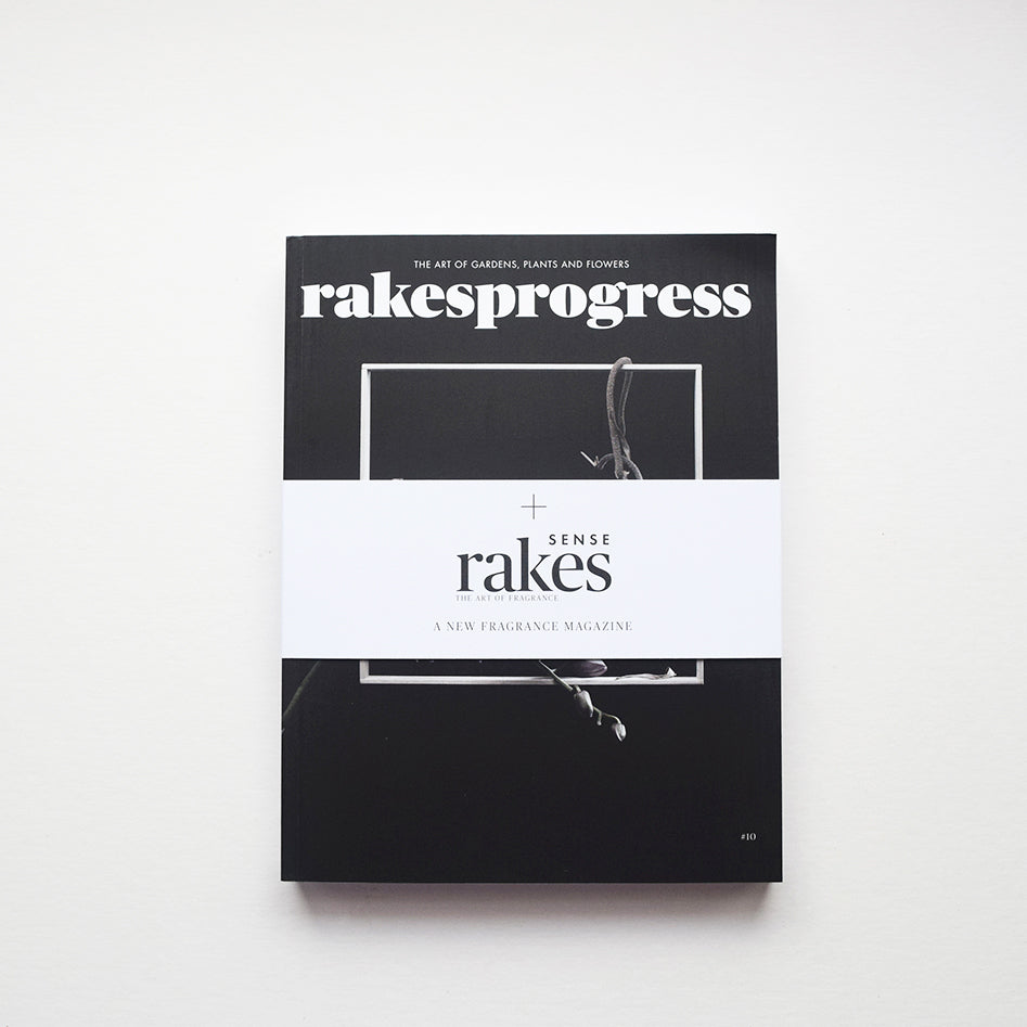 Rakesprogress Magazine, issue 10, is filled with glorious photography and inspiring features, including Venice's Garden of Eden, California's Superbloom and Lisbon's allotment revolutionaries. It comes with the launch issue of Rakes SENSE.