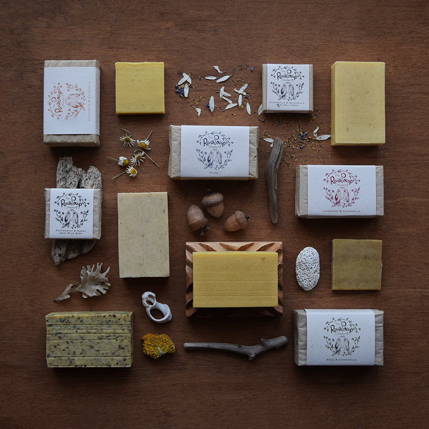Goat Milk Soap Bar | Honey & Oatmeal