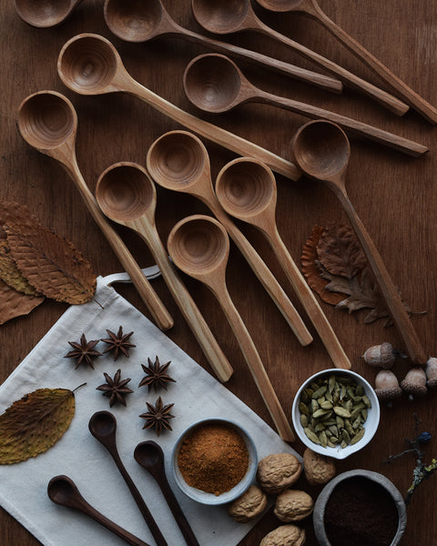 Enjoy your daily coffee making with this beautiful wooden coffee scoop handcrafted by Hatchet & Bear using reclaimed Elm wood. Each one is unique and makes a perfect utensil for the rustic homemaker or coffee lover.