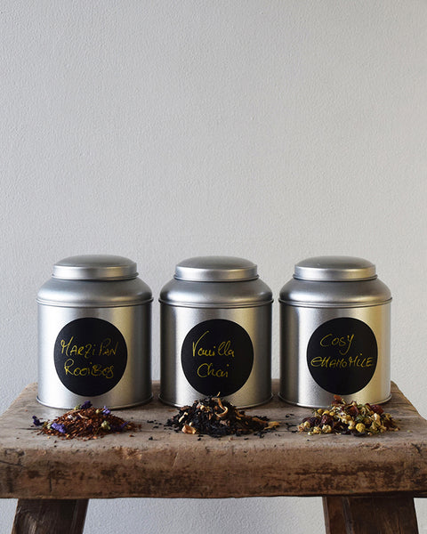 Marzipan Rooibos hand blended loose leaf tea herbal infusion - Snuggle up with a cup of this wonderfully warming herbal rooibos blend, suffused with the rich and indulgent flavour of marzipan. All ingredients are ethically sourced and fairly traded.