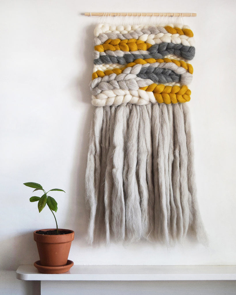 Handmade Woven Wall Hanging | Lewes Map Store