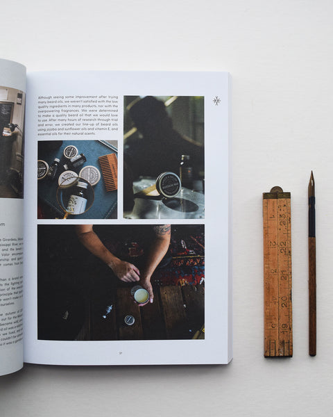 'We Are Makers' is a new bi-annual publication that showcases a wide array of wonderful, dedicated, and talented makers from across the globe. First edition out now.