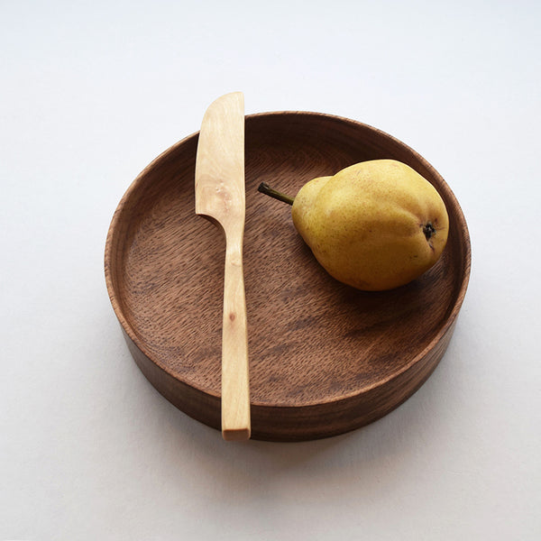 Each of these wooden trays by Selwyn House has been hand-turned from a single piece of solid Brown Oak, and finished in food-safe Danish Oil. With a weighty base but delicate edges, they're as useful as they are beautiful.