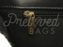 "SOLD - Chanel 10"" Black Le Boy Single Flap With Rustic Gold Hardware - PrelovedBags Chanel"